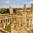 University buildings in a city, Oxford University,...