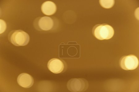 Defocused view of illuminated lights