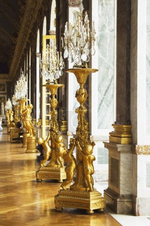 Hall Of Mirrors, Chateau de Versailles