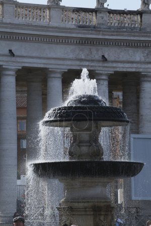 Fountain at St. Peters Square