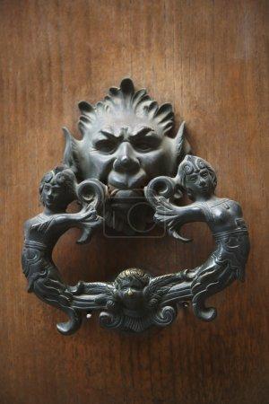 Detail of a door knocker