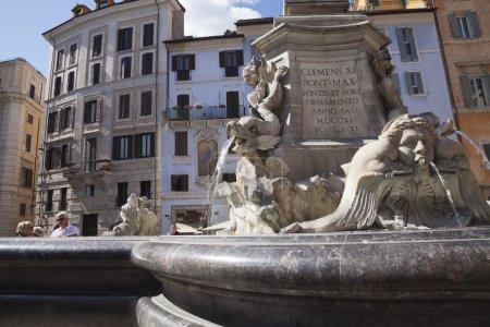Fountain, Piazza Della Rotonda