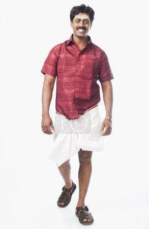 South Indian man smiling