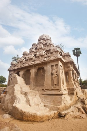 Ancient Pancha Rathas temple