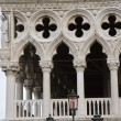 Low angle view of a palace, Doge's Palace, St. Mar...