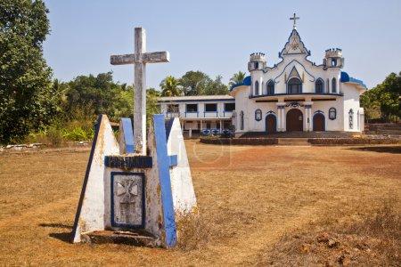 Facade of a church