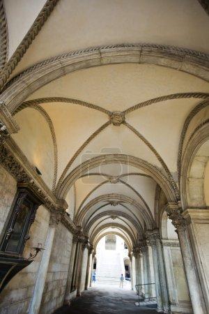 Interiors of a corridor, Doge's Palace, Venice, Ve...