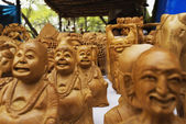 Statues of Laughing Buddha
