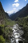 """Постер, картина, фотообои """"Река Ямуна в Уттаркаши округа, ЯМУНОТРИ, Гархвал Гималаи"""""""