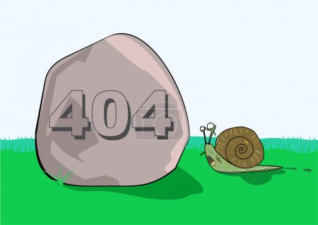 404 error message on rock