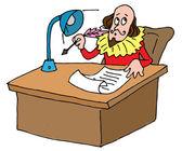 Shakespeare's desk