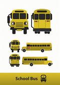 Vector illustration of School Bus Illustration