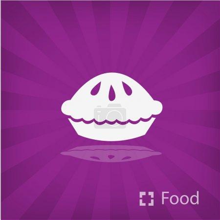 Illustration of Pie icon