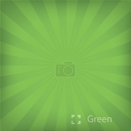 Illustration of green background