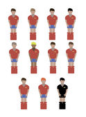 Spain soccer players