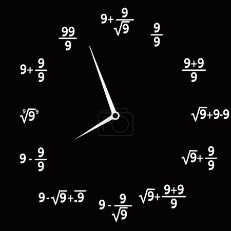 Clock mathematical