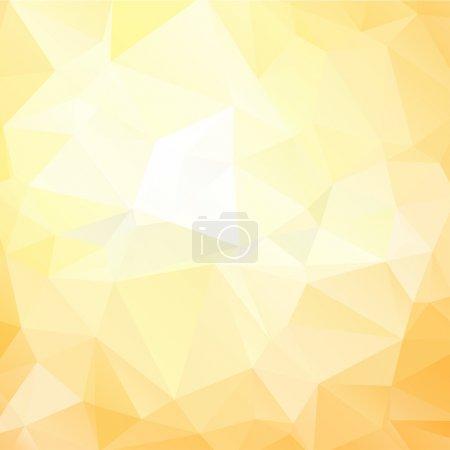 yellow poligonal