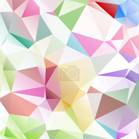 Illustration for Vector abstract polygonal background - Royalty Free Image