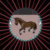 Hnědý kůň