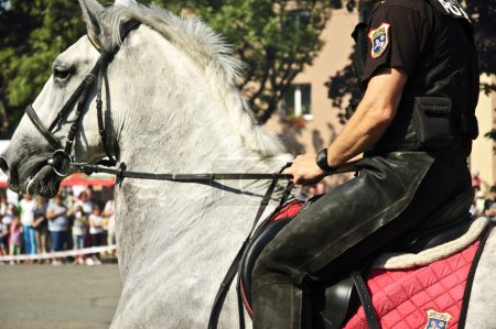 Mounted policeman.