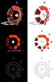 Mechanic 3D logo evolution