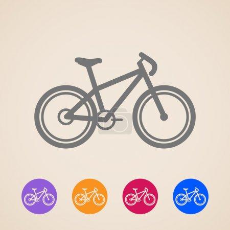 Vector bike icons