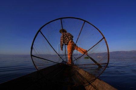 Fischer von inle lake, myanmar