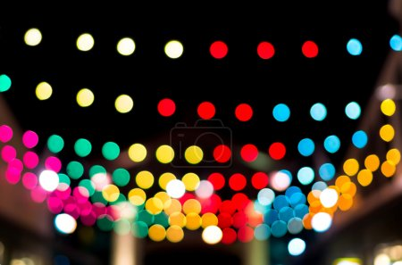 blurred photo bokeh abstract lights background for new year part