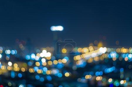 Cityscape background, Blurred Photo bokeh