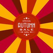 Sale Autumn Background