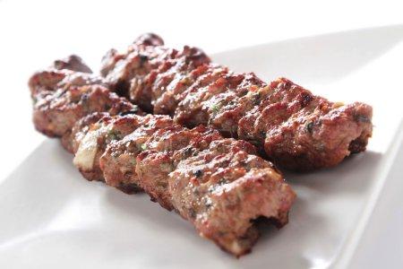 Lamb shish kofta kofte kebab