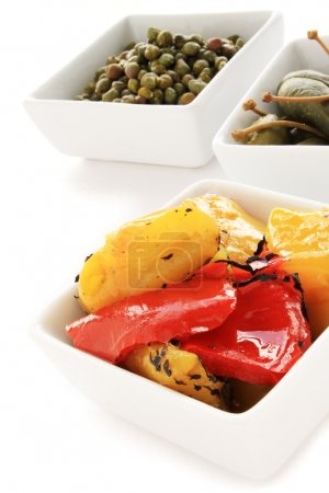 Mixed antipasti antipasto antipesto selection