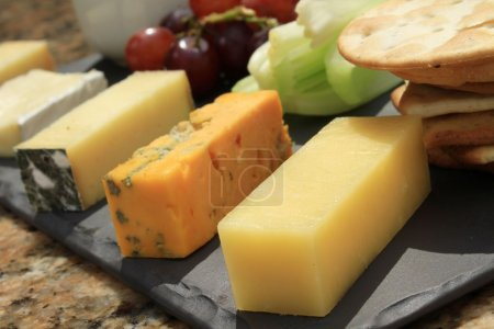 Photo for Cheese selection platter - Royalty Free Image