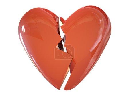 Heart parting 3d