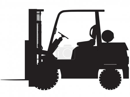 Gas forklift trucks elevations