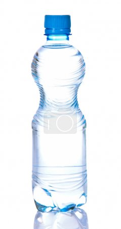 Bottle with the drinking water