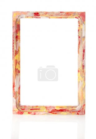 cadre pour photos, isolé sur blanc