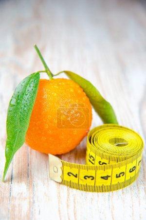 Fresh tangerines. Diet for Weight Loss