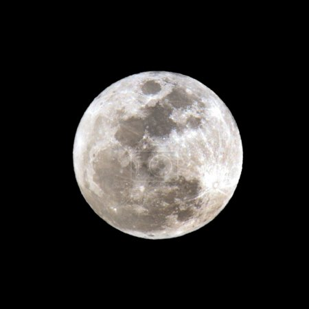 Full Moon close-up.