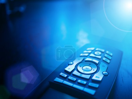 Media tv remote control
