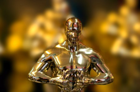 Photo for Oscar Statue - Royalty Free Image