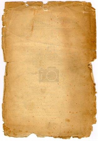 Photo pour Fond papier vieilli - image libre de droit
