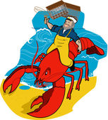 Lobster Sea Captain