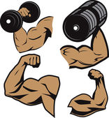 Gewichtheber-Waffen