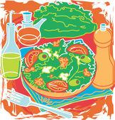 Romaine Spring Salad