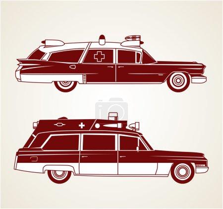rot, Seite, Kunst, Fahrzeug, Transport, medizinische - B47030155
