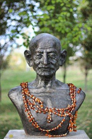 Бюст Махатмы Ганди