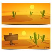 Desert Banners