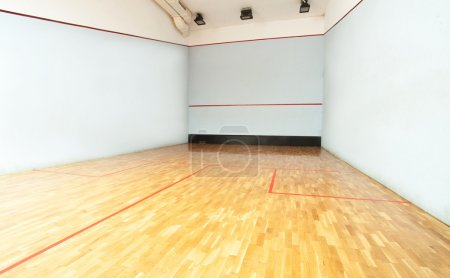 Photo for Squash court - Royalty Free Image