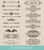 Kaligrafické návrhové prvky a rámečky